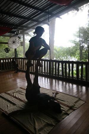 Danyasa Eco-Retreat - Bamboo Yoga Play Studio: playfulness at bamboo yoga play