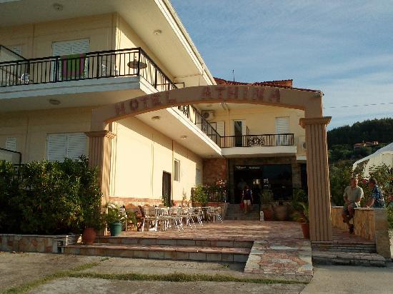Athina Hotel: Exterieur