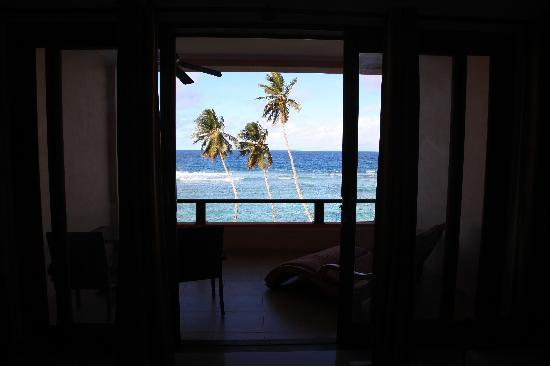 DoubleTree by Hilton Seychelles Allamanda Resort & Spa: veranda