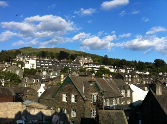 Smallwood House Hotel: view from our room.