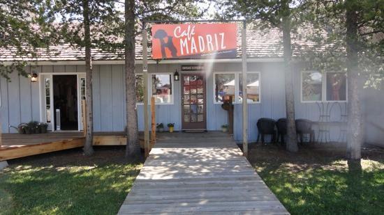 Entrance to Cafe Madriz