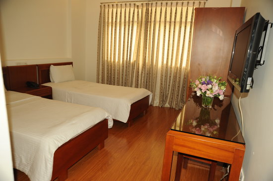 Blue River Hotel: Twin Room