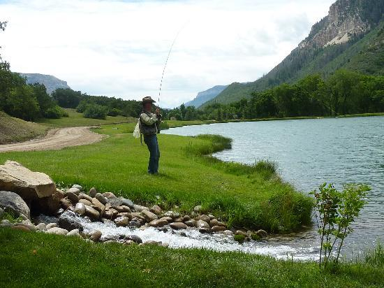 Kessler Canyon, Autograph Collection: fly fishing on one of the lakes
