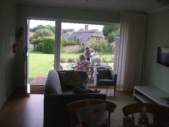 Farringford Self Catering Holiday Cottages: View from inside the cottage
