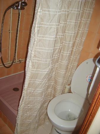 Auberge Les Moulieres: Salle de bain trop petite!