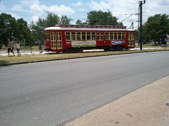 Nowy Orlean, Luizjana: City Park Streetcar