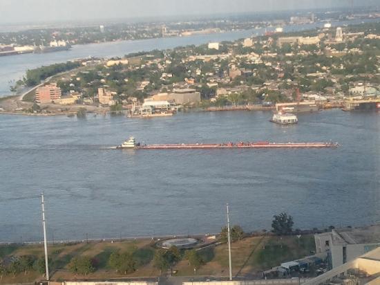 Nowy Orlean, Luizjana: Mississippi Barge