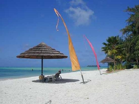 Hyatt Regency Saipan : An average day at Hyatt Beach