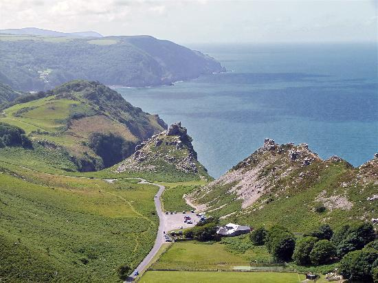 ‪لينتون, UK: Valley of the Rocks‬