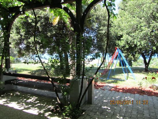 Penzion Forma Viva: Blick in den Garten