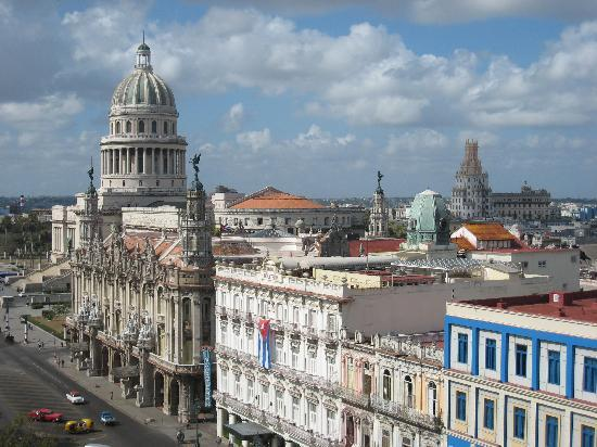 Iberostar Parque Central: view from rooftop