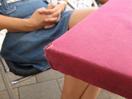 Afium: worn table