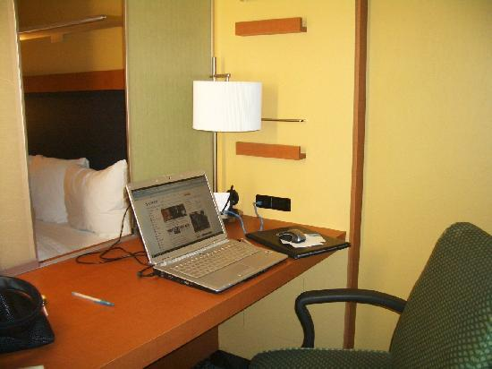 Springhill Suites Albany-Colonie: work area