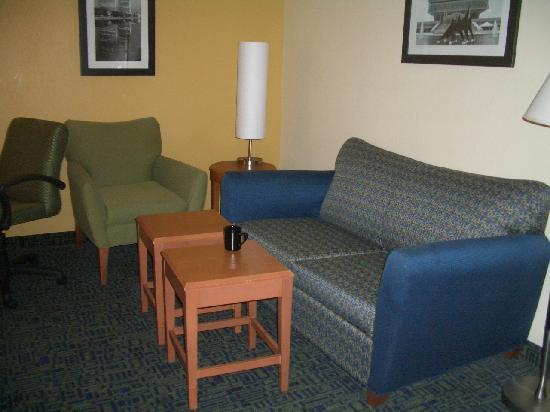 Springhill Suites Albany-Colonie: living area