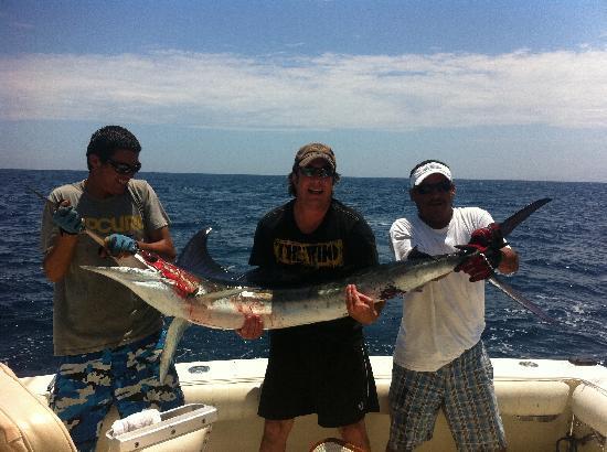 Marina Cabo San Lucas: Catching Marlin #3!