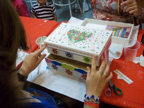 Mosaik - Kids Craft Store and Cafe: Decoupage Crafts for children 9 years old & up