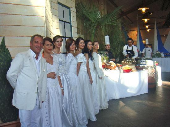 Club Med La Palmyre Atlantique: Le chef du village& GO soirée gala