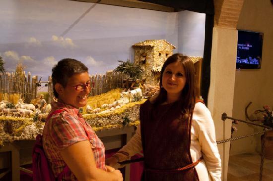 San Gimignano, Italië: Silvia e la guida, Cristina
