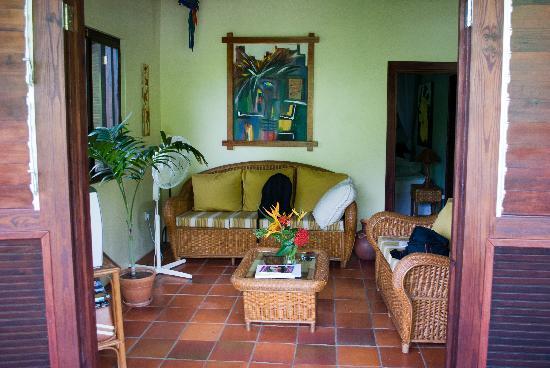 Villa Pomme d'Amour : le salon