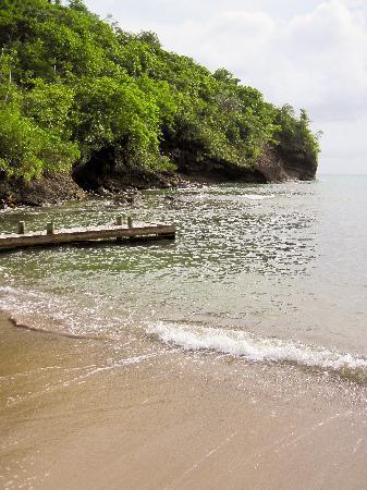 Villa Pomme d'Amour : la petite plage en contrebas