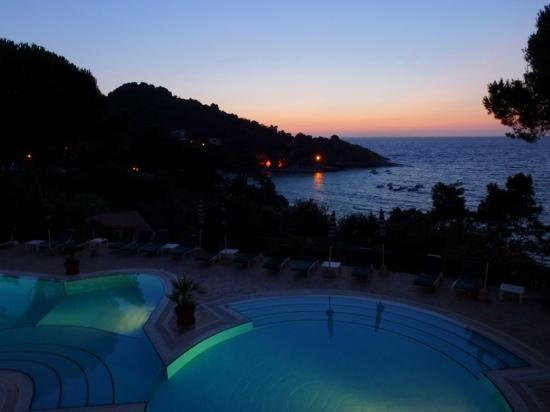 Hotel da Giacomino : Sunset from the terrace
