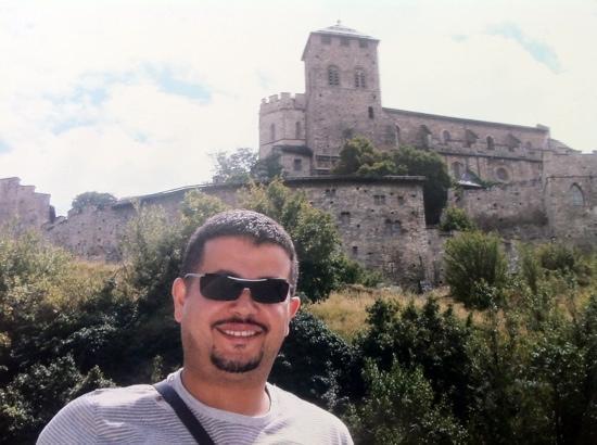 Sitten, Schweiz: Karim Ouyahia rue des châteaux Sion suisse