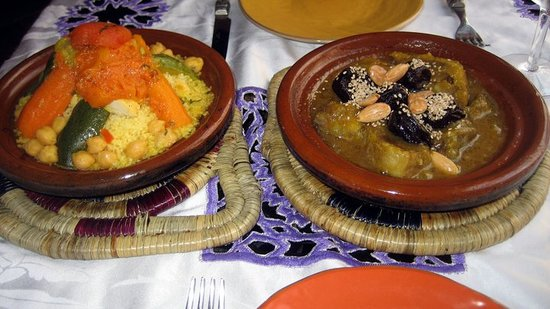 Riad Nour : Our lunch