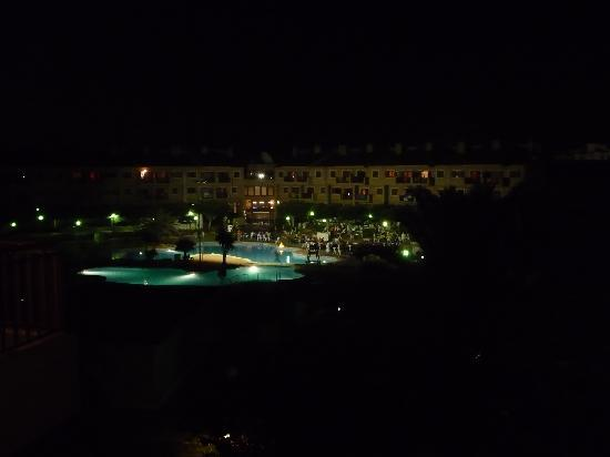 Albir Garden Resort: view from balcony