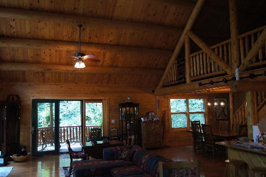 Good Timber Bed and Breakfast: Good Timber Living room - very relaxing.