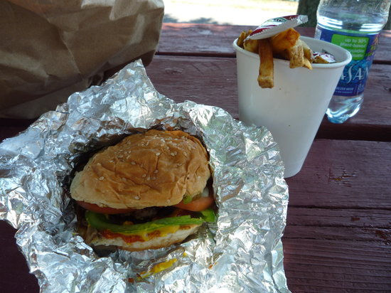 The Five Guys burger
