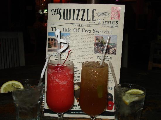 Swizzle Inn: TAKE HOME MENUS