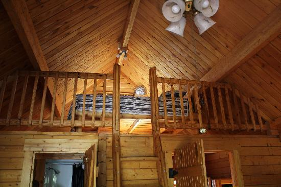 Upstairs Loft Picture Of Katie S Cozy Cabins Tombstone