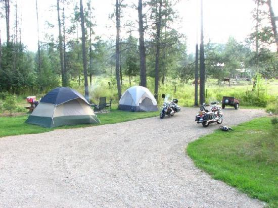 Trout Creek Motel & RV Park : Our Camp site