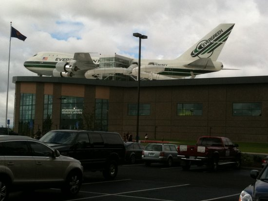McMinnville, OR: A real 747 on top of Wings & Waves