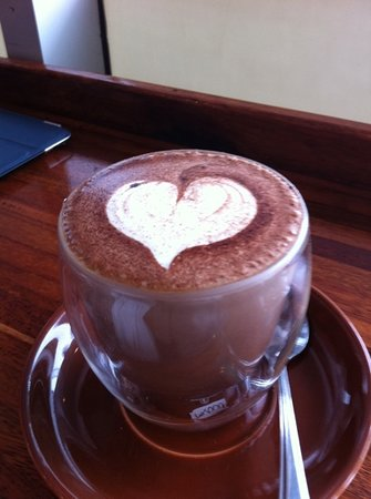 Caffee ONE: coffee from the heart ! no need to say more