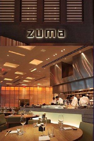 Zuma: Dining Area