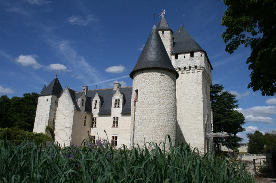 Lemere, France : The chateau's Rapunzel tower