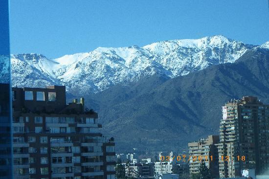 Best Western Premier Marina Las Condes: DESPERTAR EN SANTIAGO