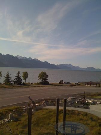 Seward Front Row B&B: view from the living room