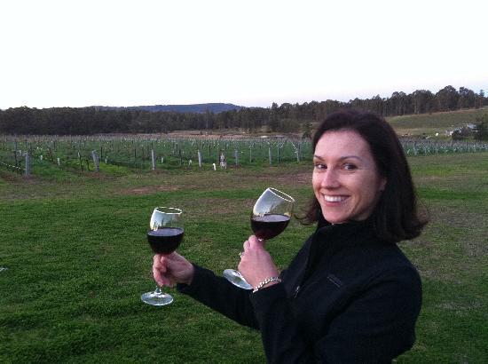 Gemelli Estate : on your doorstep: wine, vineyards and kangaroos...