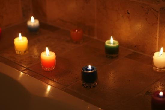 La Lune One Suite Hotel Cusco : Candles