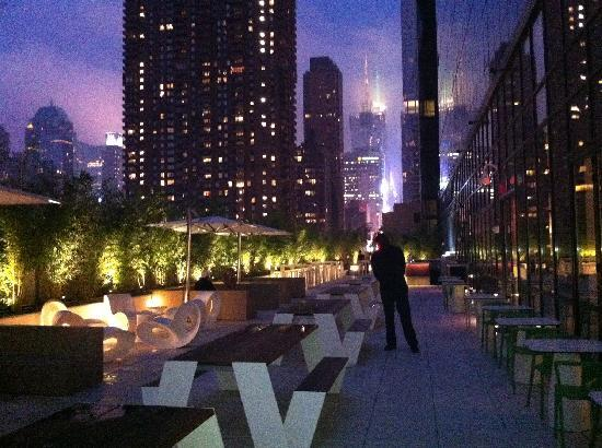 The terrace picture of yotel new york new york city for Terraces opening times