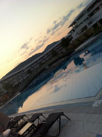 Hilton Dalaman Sarigerme Resort & Spa: @ sunset