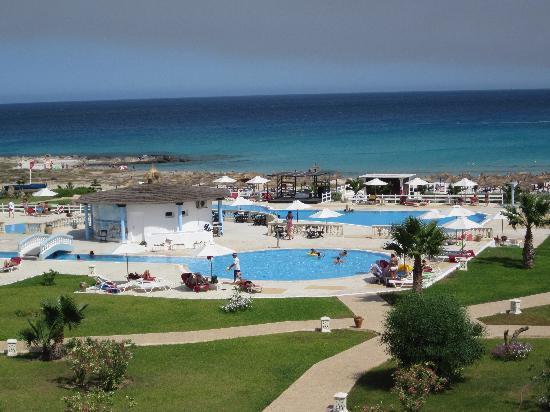 Cap-Bon Kelibia Beach Hotel & Spa: VISTA DALLA CAMERA