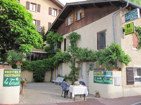 La Terrasse Fleurie: vraie terrasse