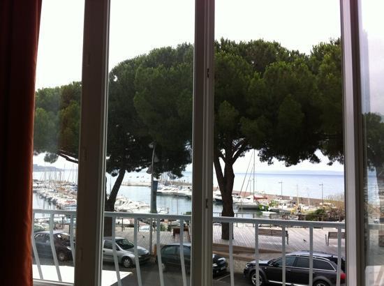 Hotel Richiardi : vue de la chambre 7