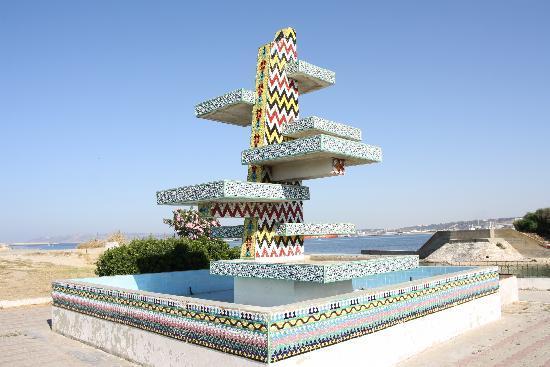 Bizerte, Túnez: fontaine