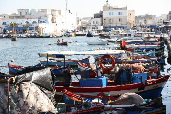 Bizerte, Tunisie : port