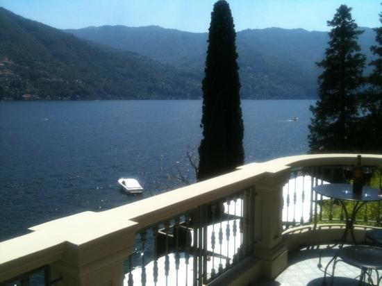 Relais Villa Vittoria: the view from room 102 the suite. stunning!