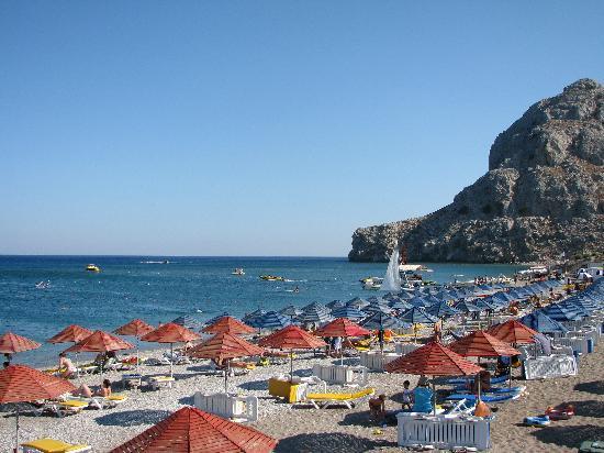 Kolymbia Beach Hotel: la nostra spiaggia